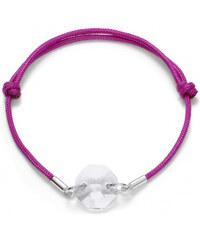 Lesara Armband mit Swarovski® Elements - Pink