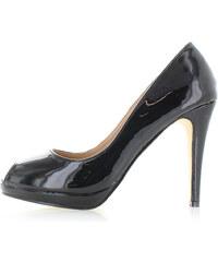 United Fashion Černé lodičky Heliena