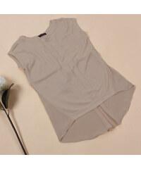 Lesara Damen-Top mit Schnürung - Camel - M