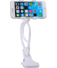 Lesara Universal-Smartphone-Halterung mit Schwanenhals - Weiß