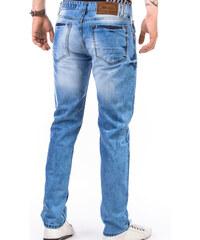 Lesara Slim-Fit-Jeans mit Waschung - Blau - W32-L32
