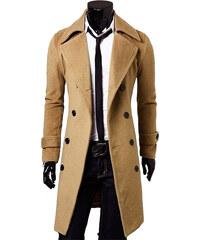 Maritimi Leichter Mantel mit Knopfleiste - Beige - M