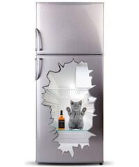 Lesara 3D-Kühlschranksticker Tiere - Kätzchen