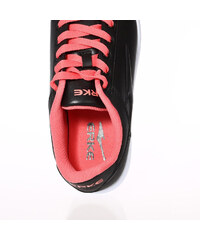 Lesara Sneaker in Leder-Optik - Schwarz - 35