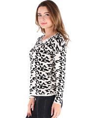 Lesara Pullover mit Animal-Print - Leopard - S