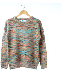 Lesara Pullover bunt meliert - Mehrfarbig - S