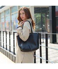 Lesara Bag-in-Bag-Handtasche - Schwarz