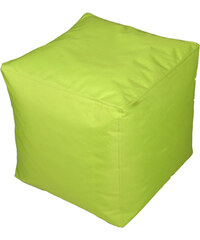 Lesara Kinzler Sitzhocker outdoorfähig - Rund - Grün