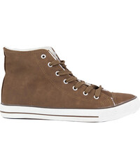 Lesara Gefütterter High-Top-Sneaker - Braun - 41