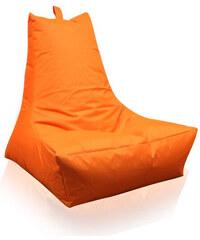 Lesara Lounge-Sitzsack In-/Outdoor - Orange
