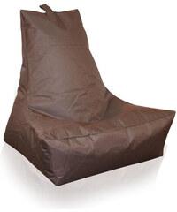 Lesara Lounge-Sitzsack In-/Outdoor - Braun
