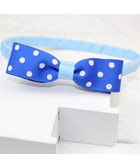 Lesara Kinder-Haarreif mit Zierschleife - Blau
