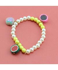 Lesara Kinder-Armband mit Candy-Anhängern - Gelb