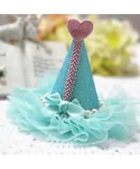 Lesara Kinder-Haarspange mit Hütchen - Blau
