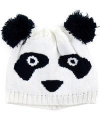 Lesara Mütze im Panda-Design - Weiß