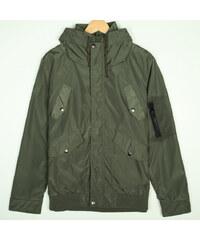 Re-Verse Leichte Jacke mit Glanz - Dunkelgrün - S