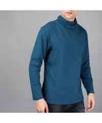 Re-Verse Langarmshirt mit Rollkragen - Blau - S