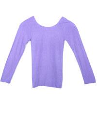 Lesara 2-teiliges Thermo-Unterwäsche-Set - Violett
