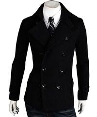Re-Verse Kurzer Mantel mit Doppelknopfreihe - Schwarz - M