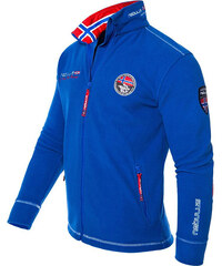 Nebulus Fleece-Jacke Explore - Blau - XL