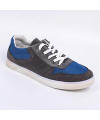 Lesara Sneaker mit Mesh-Einsätzen - Blau - 39