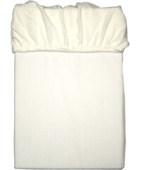Lesara Kinzler Mikrofaser-Fleece-Spannbetttuch - Weiß - 90-100x200