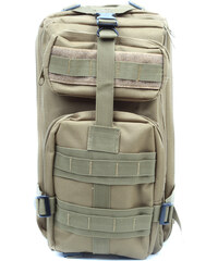 Lesara Backpacker-Rucksack mit Hüftgurt - Braun