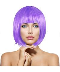 Lesara Perücke im Bob-Schnitt - Violett