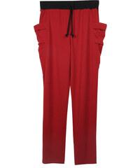 Re-Verse Sweatpants mit tiefem Schritt - Rot - S