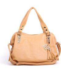 Lesara Handtasche mit verzierter Tassel - Braun