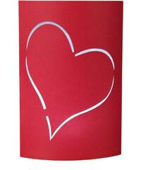 Lesara LED-Papierlaterne Herz - Herz