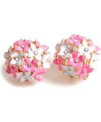 Lesara Ohrringe im Blüten-Design - Pink