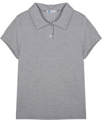 Lesara Klassisches Poloshirt - Grau - S