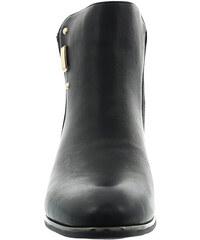 Lesara Chelsea Boots in Leder-Optik - Schwarz - 37