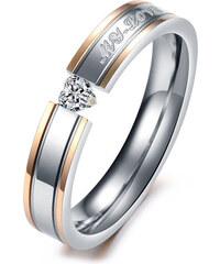 Lesara 2-teiliges Partner-Ring-Set My Love - Klein