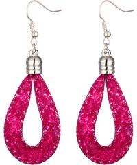 Lesara Sternenstaub-Ohrhänger - Pink