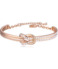 Lesara Armband Knoten mit Swarovski Elements - Gold