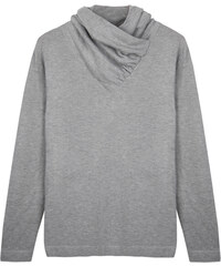 Re-Verse Rollkragen-Sweater unifarben - Grau - L