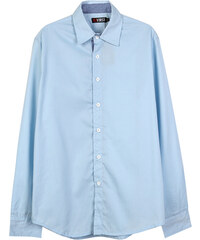 Lesara Klassisches Hemd mit Kentkragen - Hellblau - S