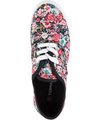 Lesara Sneaker mit Blumen-Muster - Rot - 37