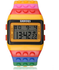 Lesara Digitale Armbanduhr Rainbow - Orange