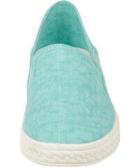 Keddo Slipper mit weißer Laufsohle - Grün - 36