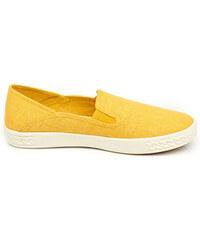 Keddo Slipper mit weißer Laufsohle - Gelb - 36