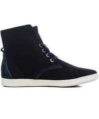 Keddo High-Top-Sneaker mit Lochmuster - Blau - 36