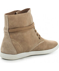 Keddo High-Top-Sneaker mit Lochmuster - Beige - 36