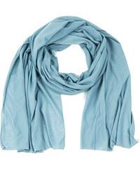 Lesara Einfarbiger Schal - Blau