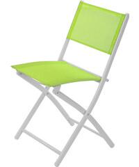 Lesara Klappstuhl mit farbigem Bezug - Grün