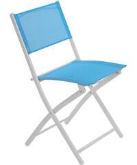 Lesara Klappstuhl mit farbigem Bezug - Blau