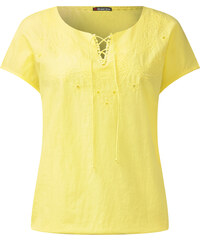Street One Ärmelloses Shirt Colleen - citro yellow, Damen