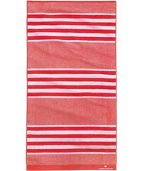 Tom Tailor Badetuch Sprint mit Streifen rot 1xBadetuch 70x140 cm